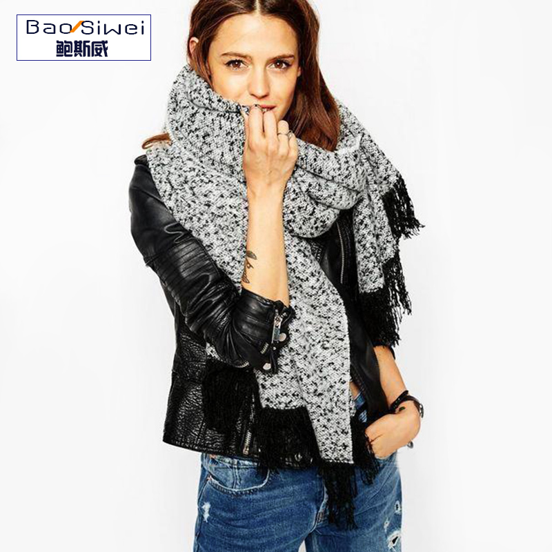 Fashion New Cashmere Scarf Long Fashion Casual Warm Shawl Scarf Spring Autumn and Winter thick Warm Women Scarves Ladies(China (Mainland))