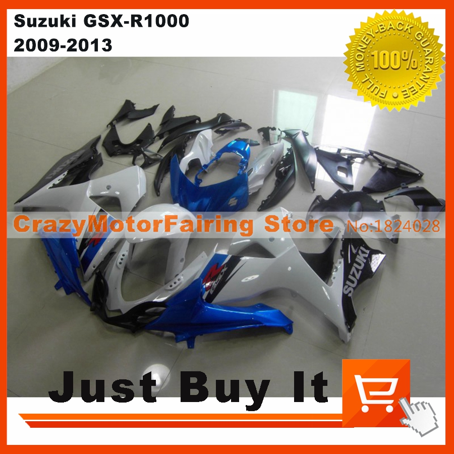 100% Fit For Suzuki GSX-R1000 2009 2010 2011 2012 2013 2014 OEM Blue Motorcycle FAIRING KIT Cover ABS Injection Mold Cowling