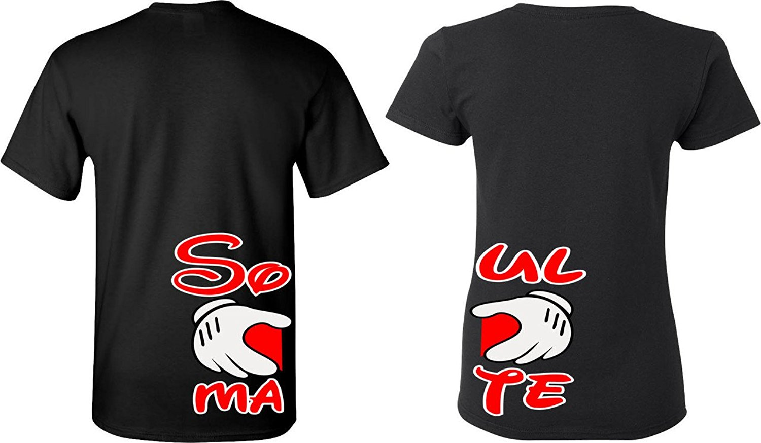 Shirt design price - 2017 New Arrivals Soul Mate Matching Couple Shirts His And Her T Shirts