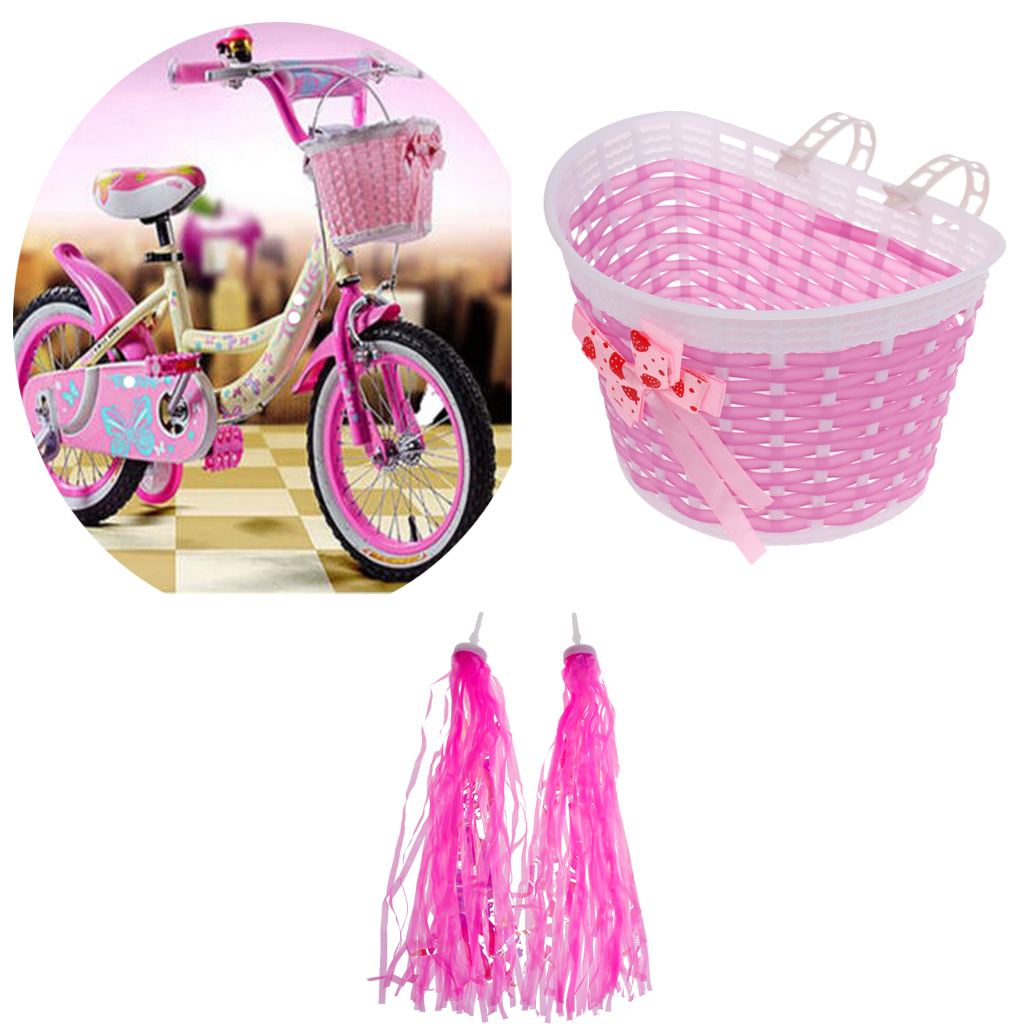 Kids/' Bicycle Bike Bowknot Streamers Scooter Handlebar Tassel Streamers Girls