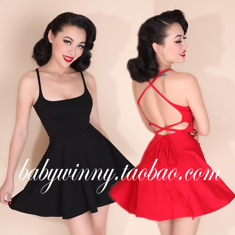 Special energy-saving all-match Lycra dress sexy backless practical cross [0.25](China (Mainland))