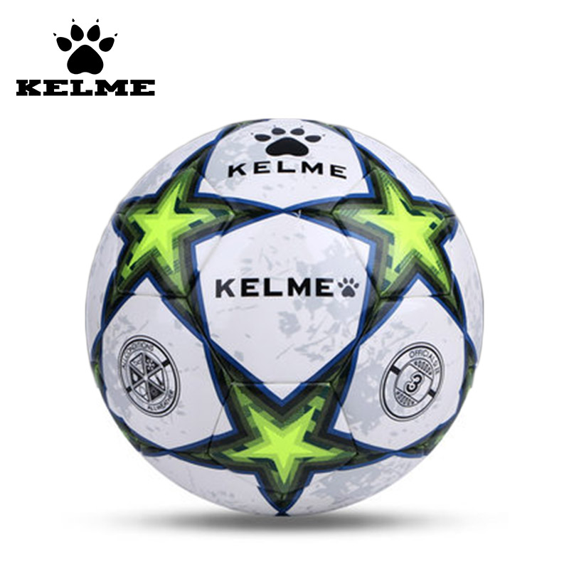 KELME Top Grade Size 4 Size 5 Soccer Ball Anti-slip PU Slip-Resistant Standard Match Training Competition Football 08(China (Mainland))