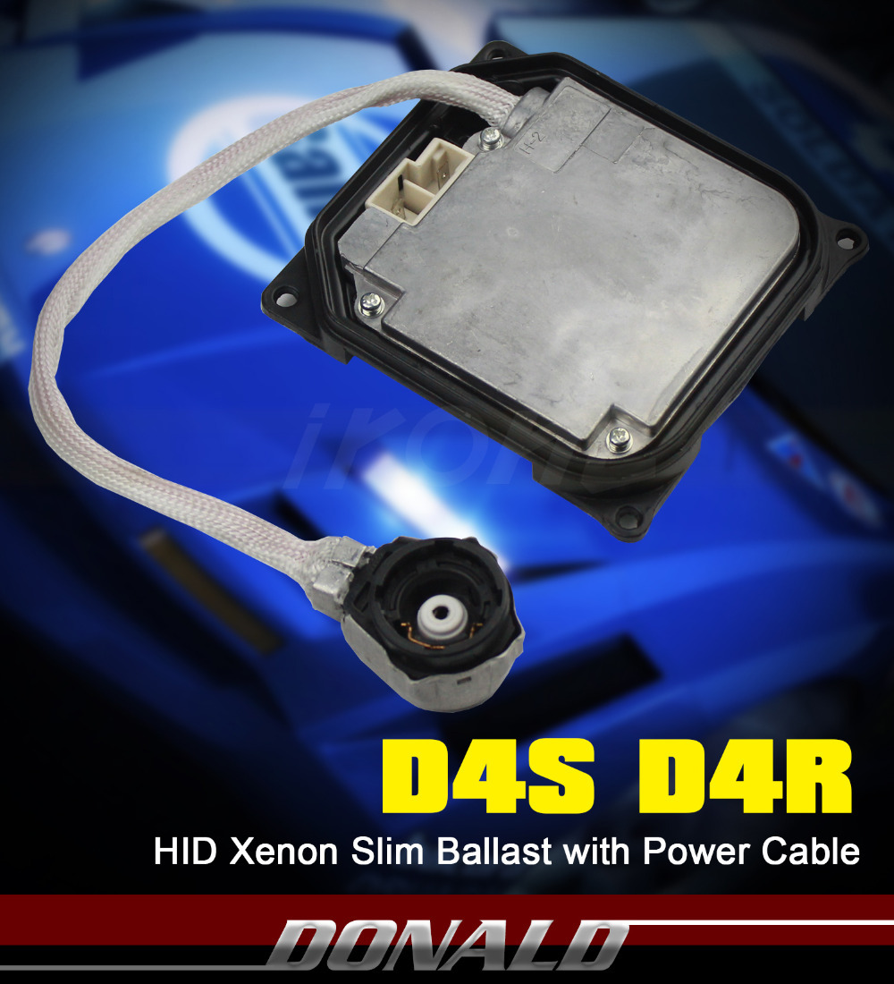 1PC 35W D4S D4R Xenon HID Replacement Silm Ballast Headlight Fit For Toyota Lexus(China (Mainland))