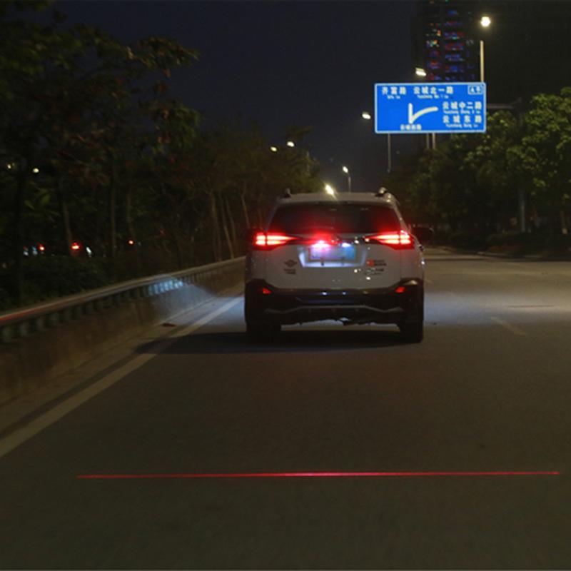 Newest Anti Collision Rear end Car Laser Tail Fog Light Auto Brake Parking Lamp Rearing Warning