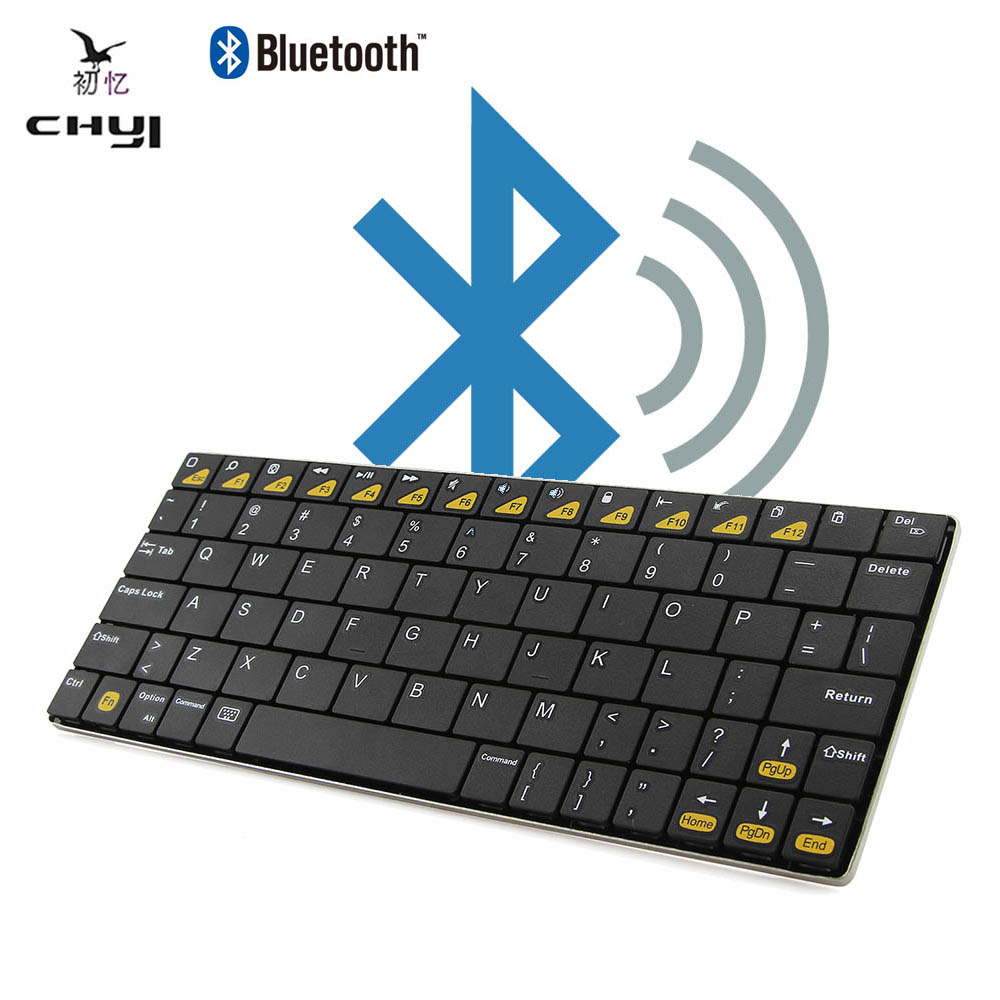 Ultra-thin Bluetooth 3.0 Wireless Gaming Keyboard Mini USB Rechargeable Office Computer Keyboard For Desktop Laptop Smartphone(China (Mainland))