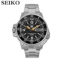 Seiko montre hommes 5 montre automatique marque de luxe étanche Sport montre-bracelet Date hommes montres plongée montre relogio masculino SNK(China)