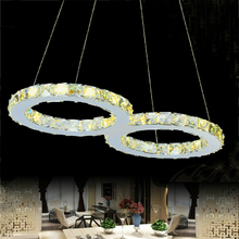 factory price modern crystal LED pendant light Contemporary Lighting contemporary hanging lights european style  suspension(China (Mainland))