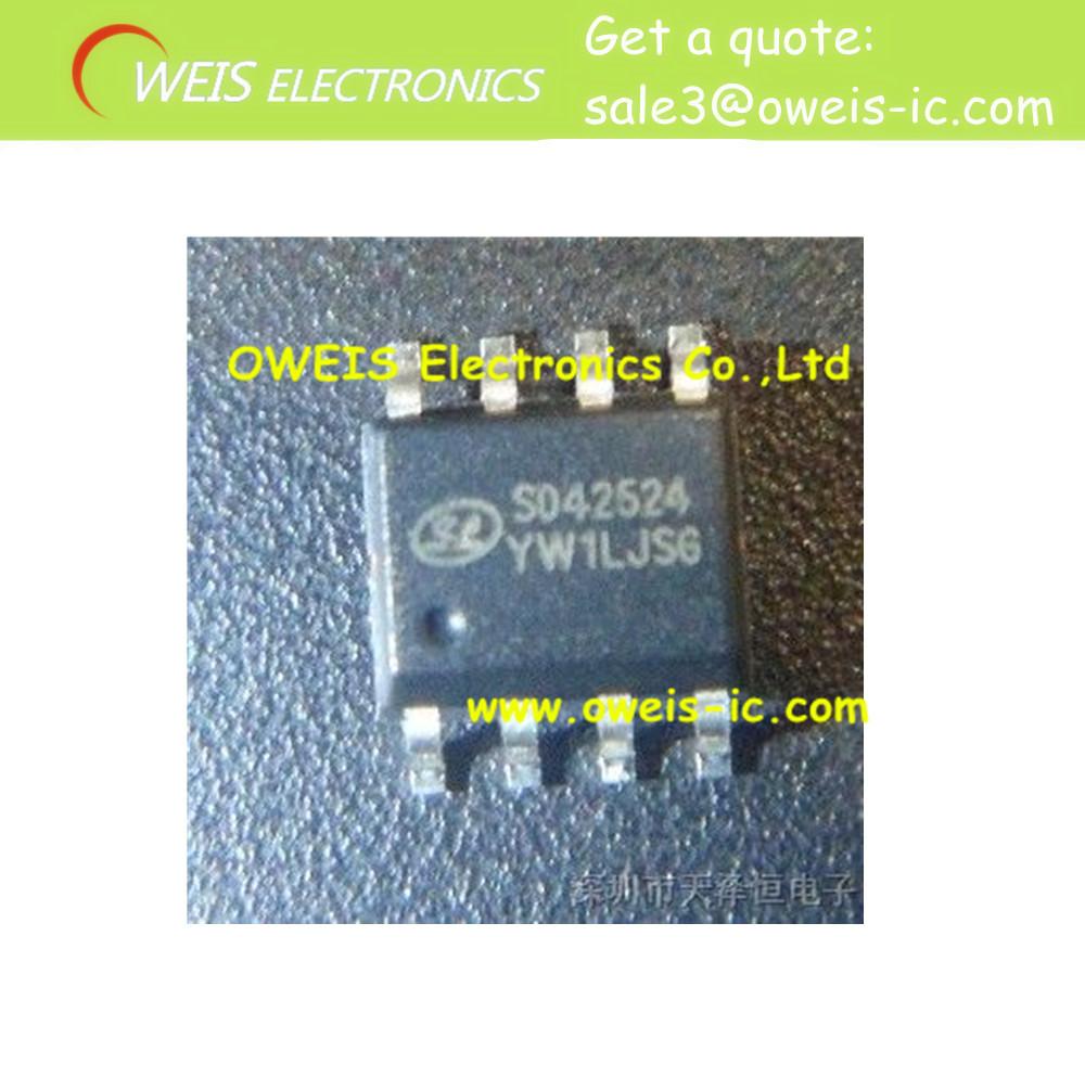 Free Shipping!!! 20 pieces / lot SD42524 42524 LED lighting driver circuit SOP-8 o(China (Mainland))