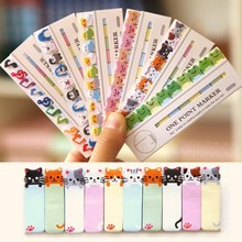 Mini cute animal 150 pages paper bookmark Cartoon sticker Post It Index Sticky Notes Office school supplies ON026(China (Mainland))
