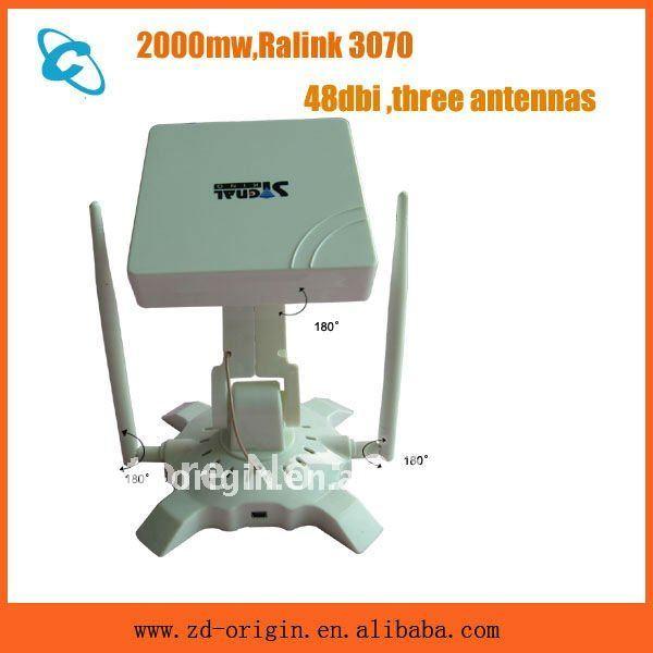 high power wifi three antennas signalking 950WN 48dbi 2000mw - Shenzhen Zhongdao Trade Co., Ltd. store