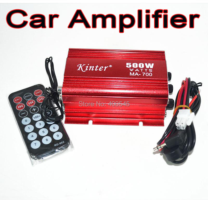 500W 2 channel Amplifiers Digital Audio Power Amplifier sound Car amplificador subwoofer Hi-Fi Stereo Boat Home mp3 AMP(China (Mainland))