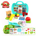 New Baby Educational Toy Pretend Play Register Scanner Supermarket cash register Children Lovely Babies Mini Store