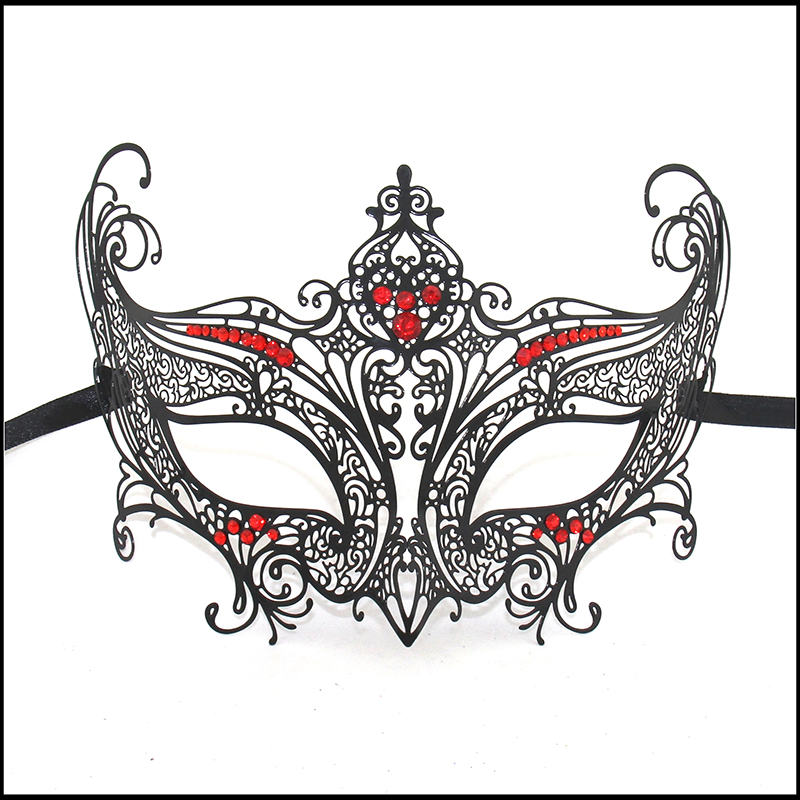 Mascaras Halloween Props Sexy Lace Party Masquerade Mask Venetian Costume 8 Patterns Black MD002-RBK(China (Mainland))