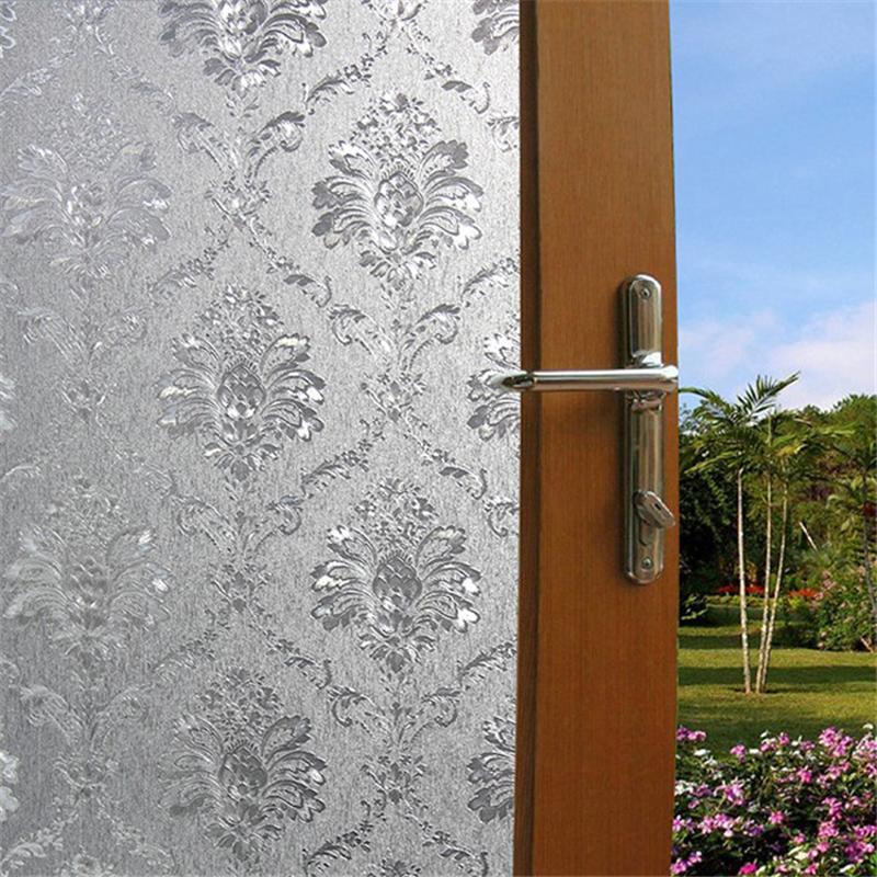45 200cm Opaque Privacy Decorative Glass Window Film Home