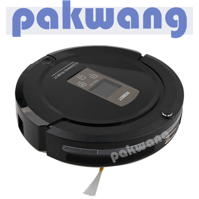 PAKWANG A325 Robotic Vacuum Cleaner for Pets and Allergies Home, Black(China (Mainland))