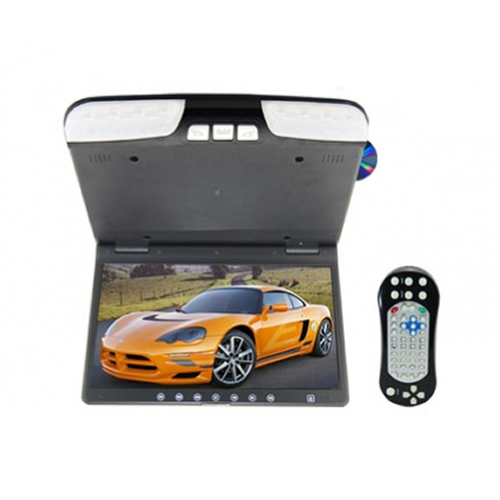 Retail Top Quality Car DVD Player Flip Down Roof Mount DVD Player with 15.6 Inch TFT LCD Monitor CL-1560D Free Shipping