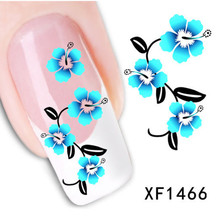 Fashion New Style Water Transfer Stickers 1 Sheets 3D Design DIY Nail Art Decorations Nail Sticker Nail Decal Nail Tools