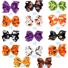 Buy ePacket 30 pcs/lot, Grosgrain Ribbon Bows WITH Clip Boutique PinWheel Hair Clip Hair Accessories for $14.10 in AliExpress store