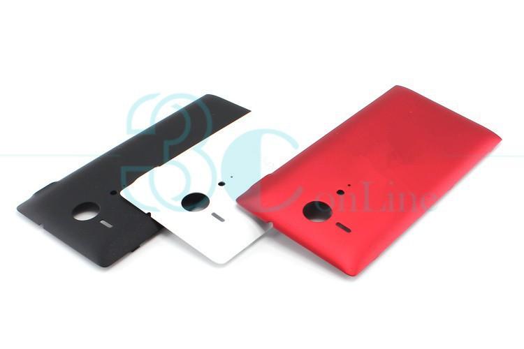 Cubierta para Sony plástico, xperia SP M35h C5303 C5302 posterior copia de seguridad de la puerta de la batería reemplazo de reparación de piezas de repuesto(China (Mainland))