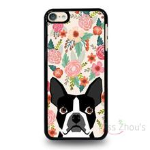 For iphone 4/4s 5/5s 5c SE 6/6s 7 plus ipod touch 4/5/6 back skins mobile cellphone cases cover BOSTON TERRIER DOG BREED