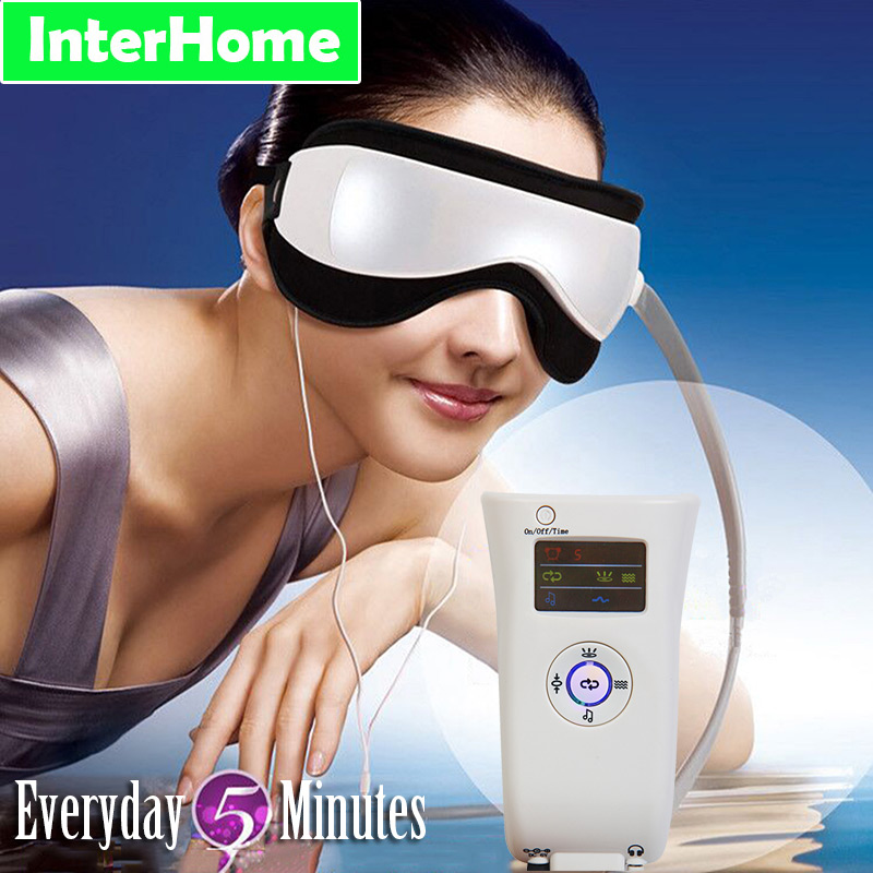 Eye Massager Magnetic Therapy Massage Electric Vibration Air Pressure Infrared Heater Eye Care Fatigue Prevention of Myopia(China (Mainland))