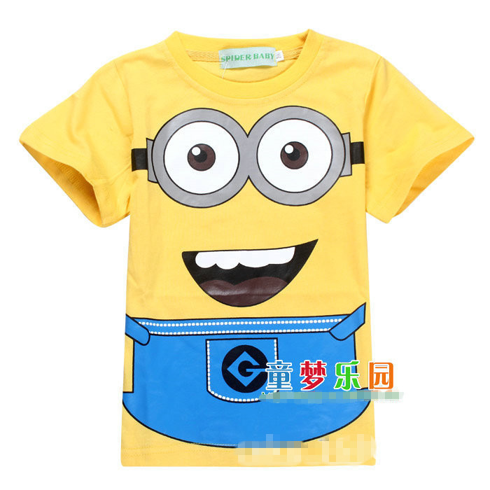 2014 cartoon anime figure despicable me minions clothes for Minion clothespins