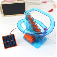 New Arrivals DIY Solar Powered Orbit&Ball Toys Teaching Funny Kits Toys Educational Plaything For Children Gifts(China (Mainland))