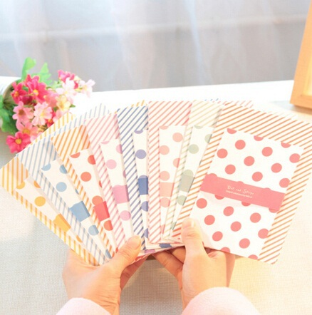 6pcs/Creative Vintage Twill &amp; Dots series DIY Multifunction Envelope set/Package paper/wholesale<br><br>Aliexpress