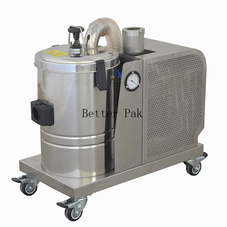 VTDF-150MJ Industrial Vacuum cleaner for Foods and Pharmaceuticals Industry,220V,full SUS#304(China (Mainland))