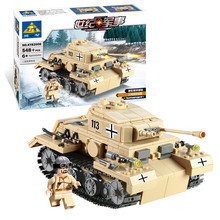 Kazi Brand Building Blocks Toys Compatible Bricks High Quality ABS Plastic Military Series Scale Model Tanks Toy(China (Mainland))
