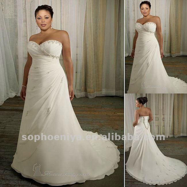 2012 cheap simple design siren a line sweetheart sweep for Used plus size wedding dress