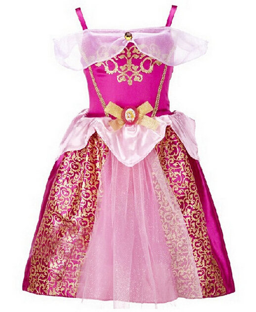 Elegant Baby Girls Princess Dress Vestido Princesa Sofia