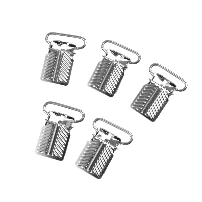 30x23mm Wholesale 5 pcs/lot Free shipping Lead Free Metal Suspender Pacifier Clips Without Plastic Ribbon Craft Funny Holders(China (Mainland))