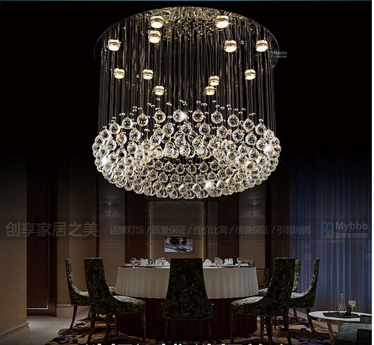 Hotel Foyer Lighting Uk : Aliexpress buy fashion modern luxurious round dia