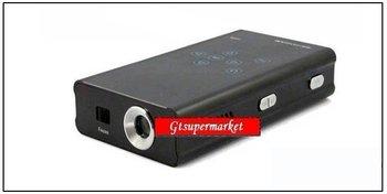 DHL free,Mini projector  supports 50 lumen brightness, VGA input, built-in media player, micro SD card slot,GT-FS07