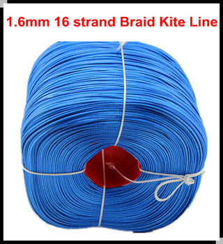 Free Shipping 1000M/Piece 600LB UHMWPE KITE LINE 1.6mm 16 weave BRAIDED WIRE