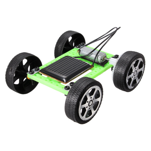 Mini Solar Powered Toy DIY Assembly Car Kit Children Gift Educational Puzzle IQ Gadget Hobby Robot Newest 8x7.5x3.2 cm(China (Mainland))
