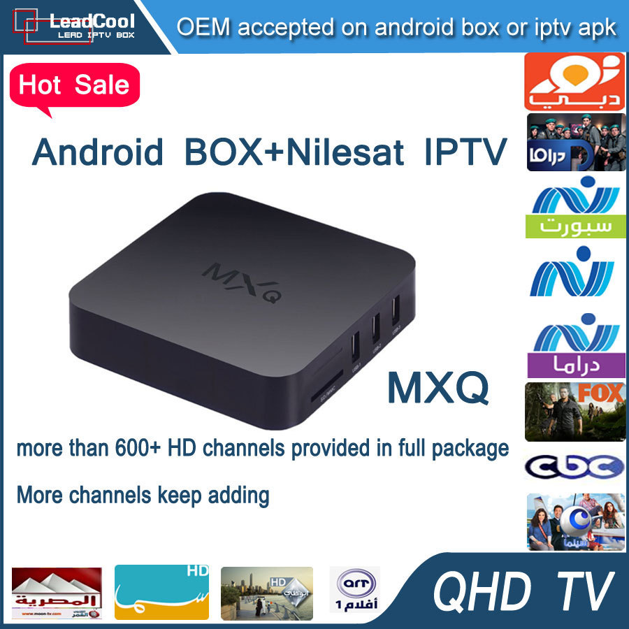 Arabic Iptv Box MXQ Android Iptv Box Android 4.4 With 3 Months Qhdtv Iptv Account Include 650+ Arabic Channels Europe Channels<br><br>Aliexpress