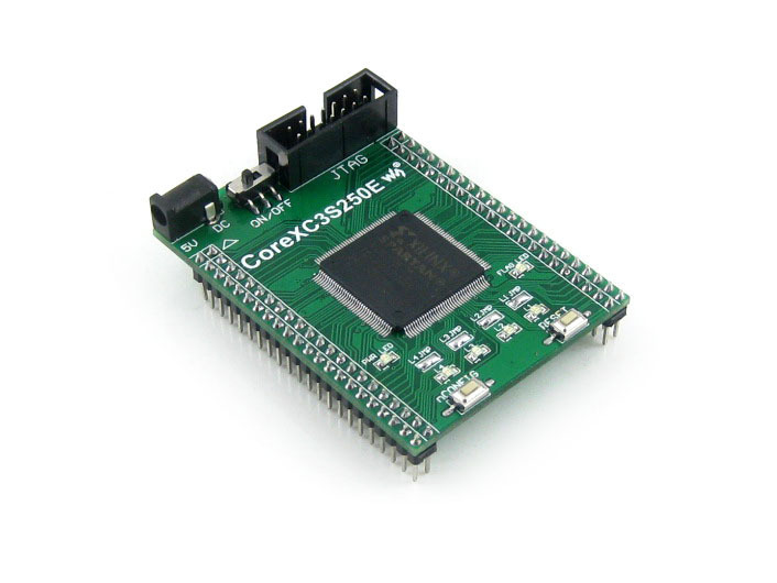 XILINX FPGA Development Core Board Xilinx Spartan-3E XC3S250E Evaluation Board+ XCF02S FLASH support JTAG= Core3S250E(China (Mainland))