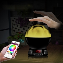 Hot 5W USB LED Speaker Bulb Wireless RGBW led light bulb 4.0 Bluetooth smart LED light lamp color change DC 5V Night light lamp(China (Mainland))