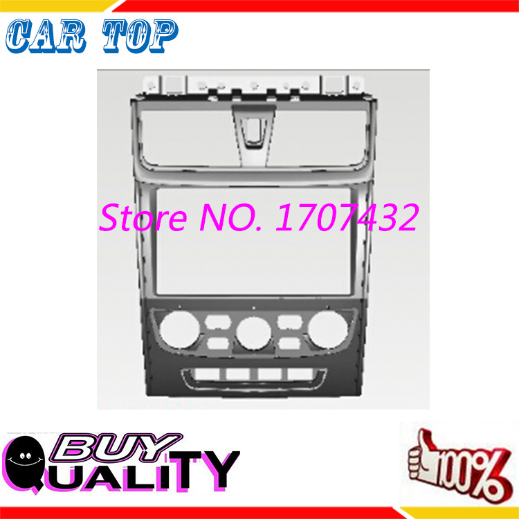 Hot DOUBLE 2DIN Car Radio Fascia for GEELY Emgrand EC7 2013 car radio frame stereo face plate frame panel dash mount kit adapter<br>