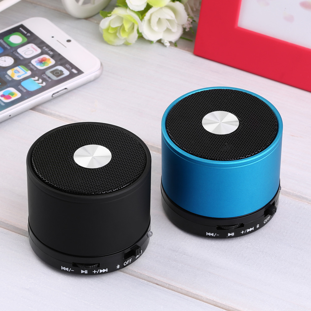 Stereo Metal Mini Portable Bluetooth Speaker Wireless Music Player Tf Card FM Support for iPhone for Samsung 2015 Hot Sale S10 <br><br>Aliexpress
