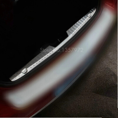 Stainless Steel Rear Trunk Scuff Plate Door Sill Fit For CHEVROLET CRUZE Sedan 2009-2014(China (Mainland))