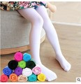 Spring autumn candy color children tights for baby girls kids cute velvet pantyhose tights stockings for