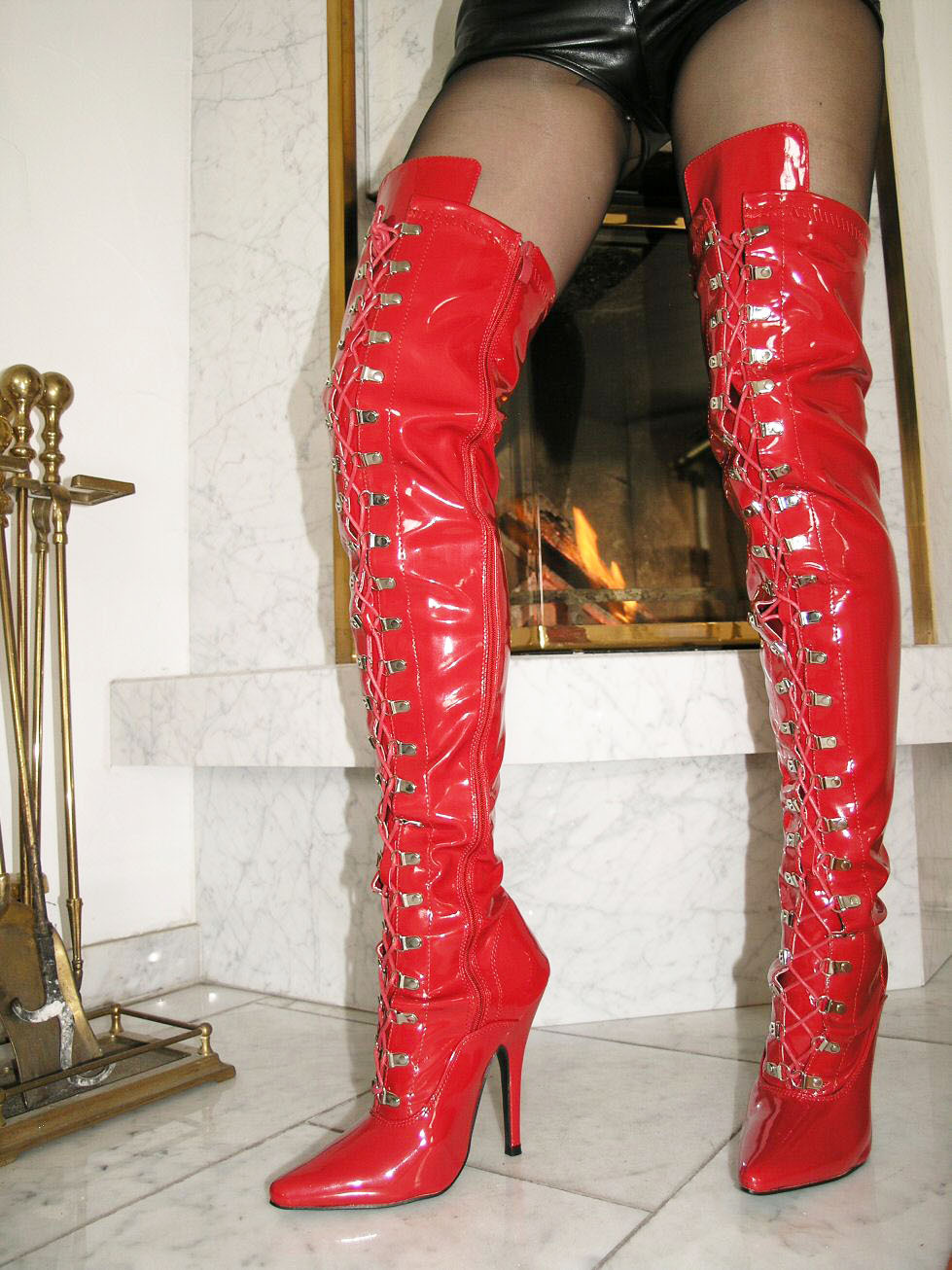 Thigh High Boots Size 13 - Boot Hto