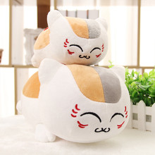 1pc 30cm cat new arrival Japan anime Natsume's Book of Friends kawaii lovely cat teacher stuffed plush toy doll holiday gift