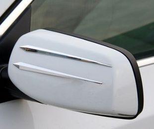 Free shipping,car anti-collision strip.bumper protector,wholesale/retail Rear view mirror side door mirror sticker stickers auto