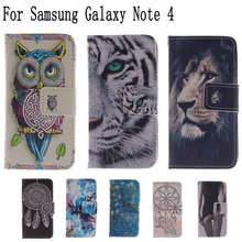Buy Flip Bags phone case PU Leather Cover Protector Skin +Stand & Card Holder coque Galaxy Note 4 IV N9100 N9108V LH for $3.76 in AliExpress store