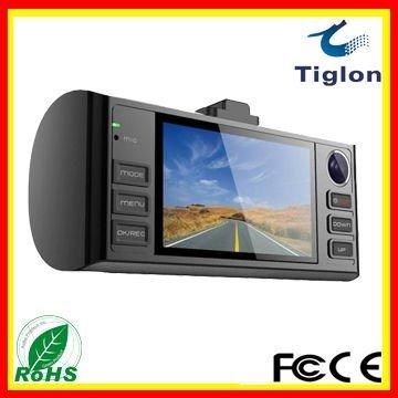 Freeshipping 2.4 inch High definition TFT LCD in car cameras 1280*720/30fps  dvrs DVR-103-559DA with one year warranty