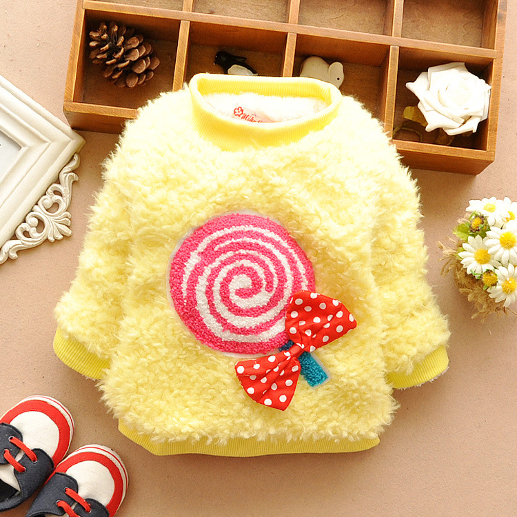 2014 new Retail 1PC autumn winter children coat outerwear faux fur coats /jackets girls,children clothing - Happy-Baby WOW store